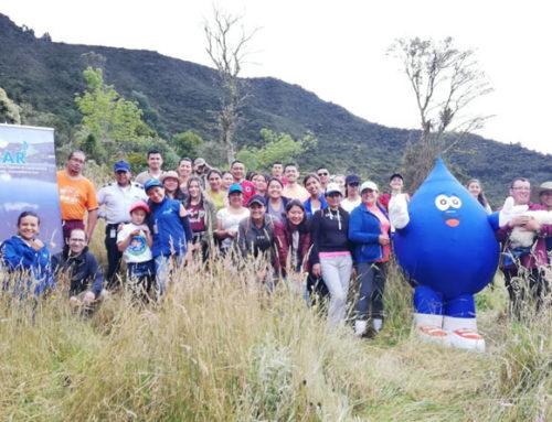 CAR y Podensa acompañaron jornada de siembra en el municipio de Sopó
