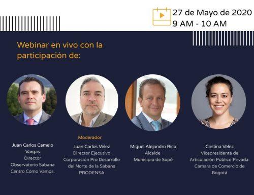 Live: Reactivación Económica en Sabana Centro